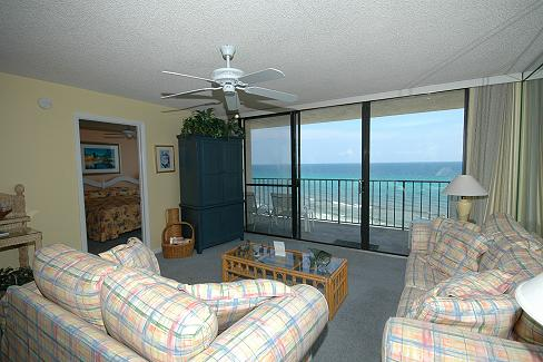 Photo 2 of http://www.oneseagroveplace.com/uploads/units/73/photo2/LivingAreaView4-2010.jpg - One Seagrove Place vacation rental in Seagrove Beach, Florida aka Santa Rosa Beach FL