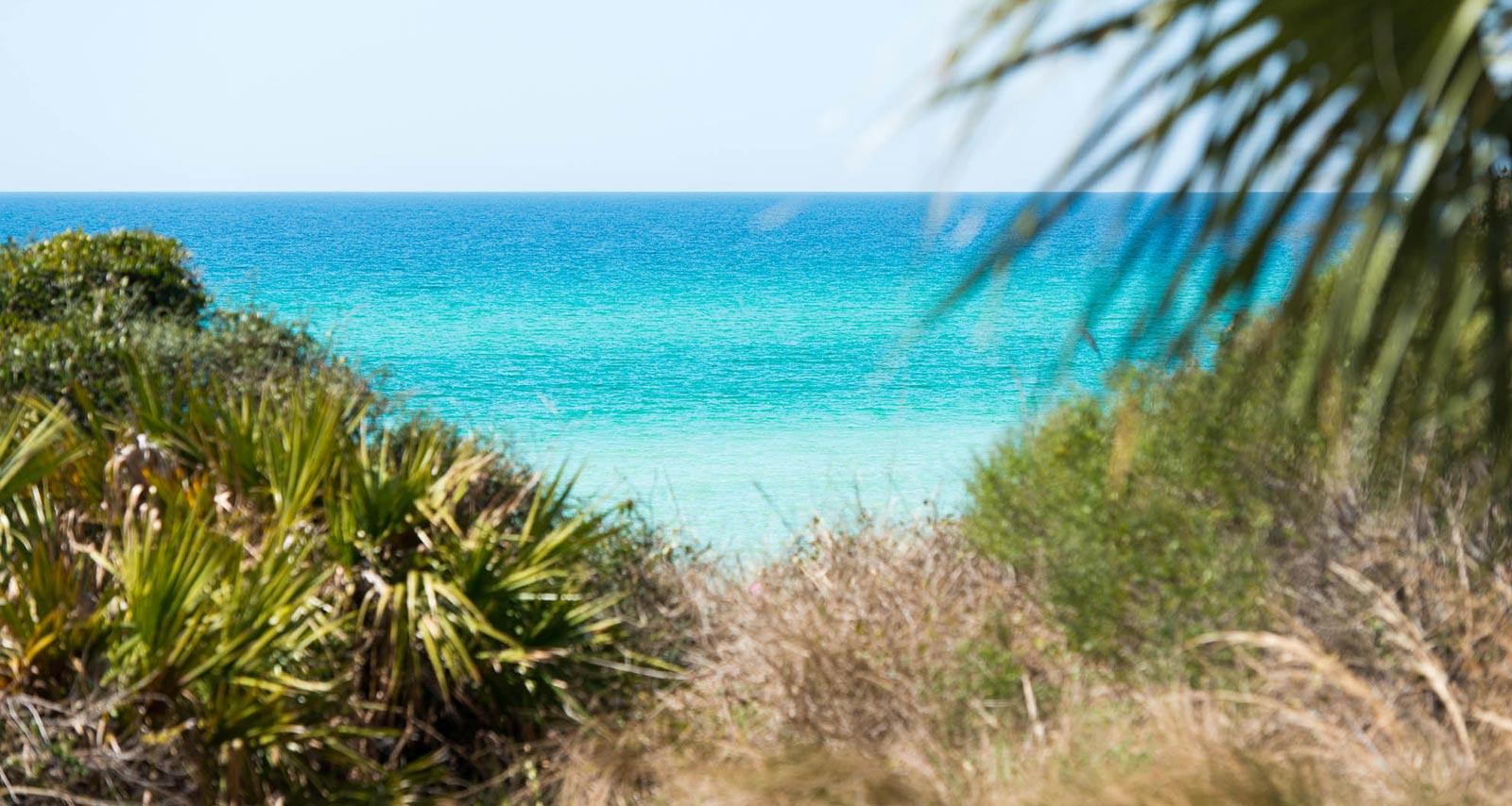 The beach near our Seagrove Beach condo rentals