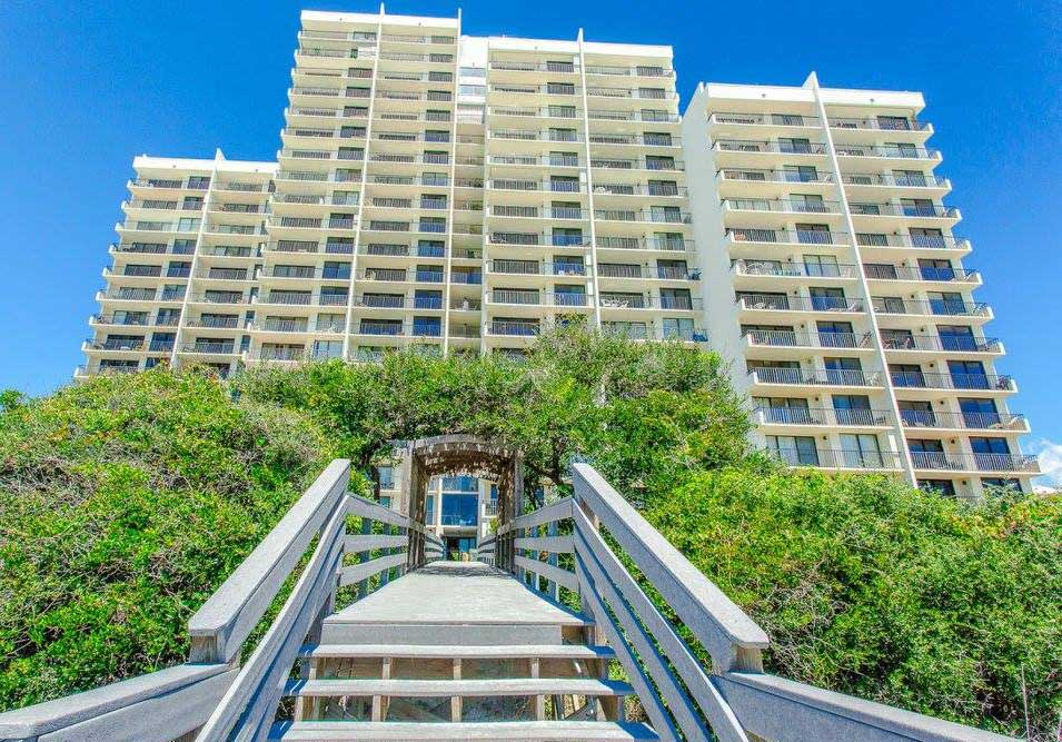 Exterior of One Seagrove Place Condos in 30A FL